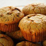 Muffins de aceitunas deshidratadas y parmesano