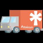 Camión, logística y transporte.