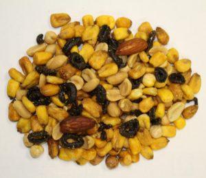 frutos secos con aceitunas