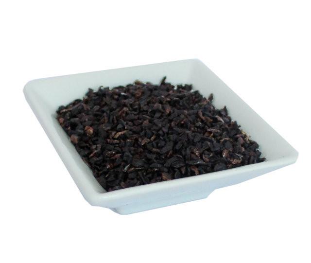 Aceitunas negras en trozos deshidratadas